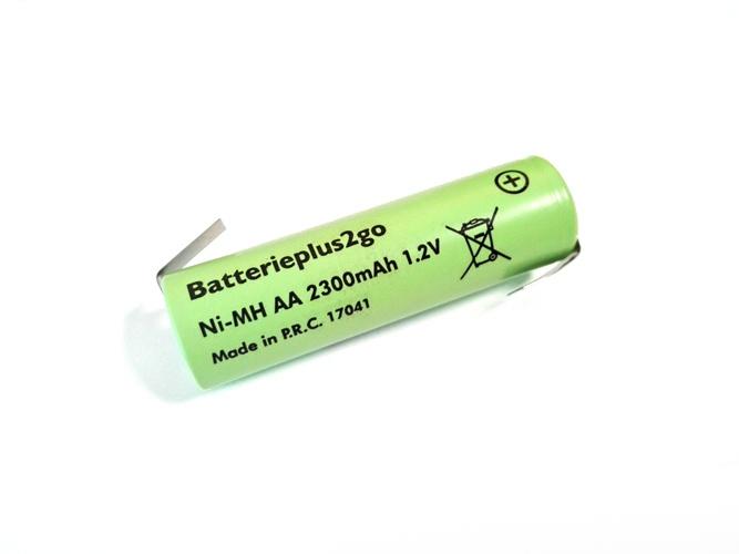 Batterieplus2go Mignon AA Flachkopf