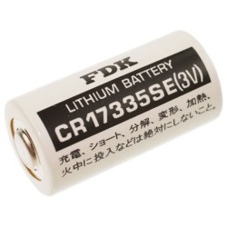FDK CR17335SE Lithium 2/3A  3V ohne Ableiter