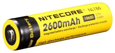 NiteCore 18650 Akku für LeuchtenNL186