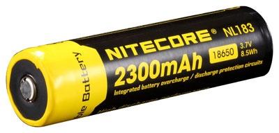 NiteCore 18650 Akku für LeuchtenNL183