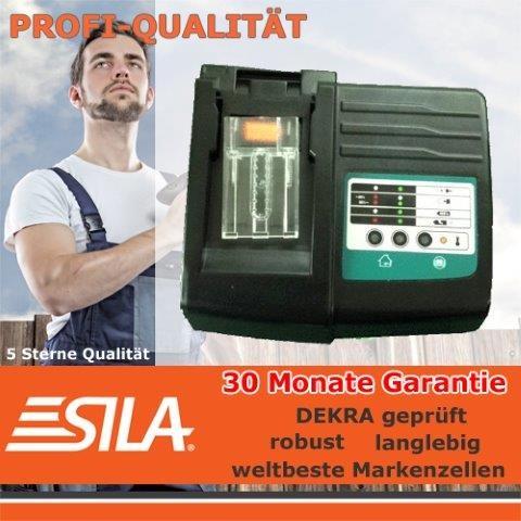 SILA Ladegerät für Makita 7,2-18 V