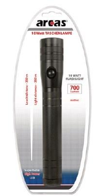 Arcas 10 Watt Taschenlampe für 3 C / LR 14