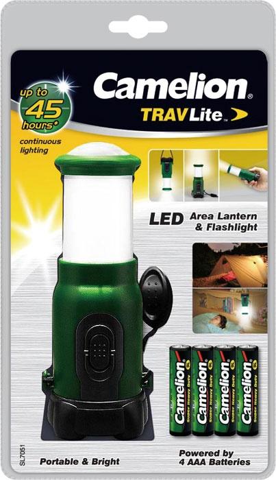 Camelion SL7051-4R03PBP-GREEN Laterne & Taschenlampe 1+4 LED