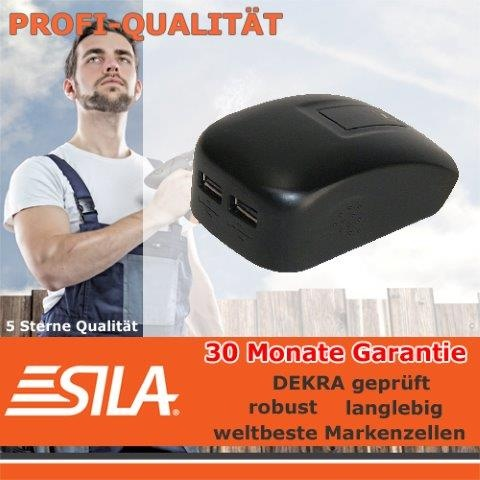 SILA USB-Powertool-Adapter für DEWALT