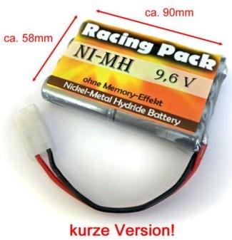 Racing Power Akku RC-Pack 9,6V 1400mAh