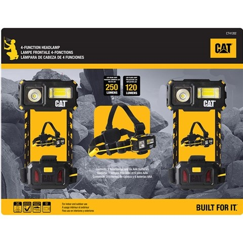 CAT CT41202 multifunktions Stirnleuchte