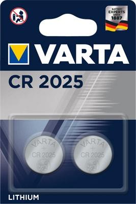 Varta CR 2025 im 2er Blister