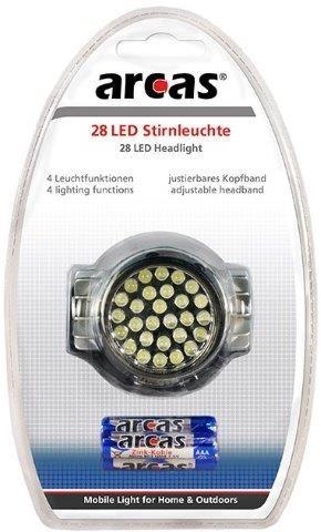 Arcas mit 28 LEDs Stirnlampe mit Kopfband
