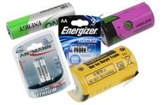 Lithium - Batterien 3 bis 9V