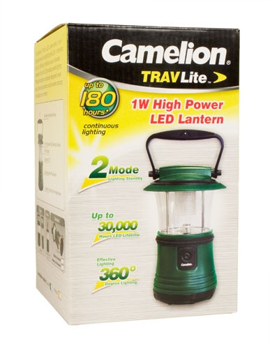 Camelion SL1011-GREEN 1 x 1W LED Laterne