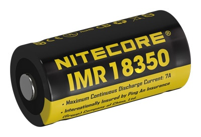 Nitecore IMR 18350 Li-Ion Akku