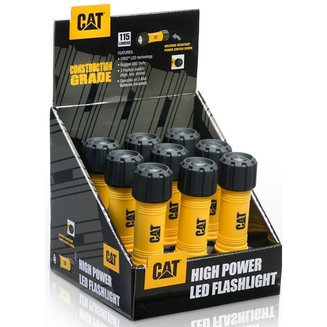 Caterpillar  CAT High Power LED Leuchte 9er Thekendisplay
