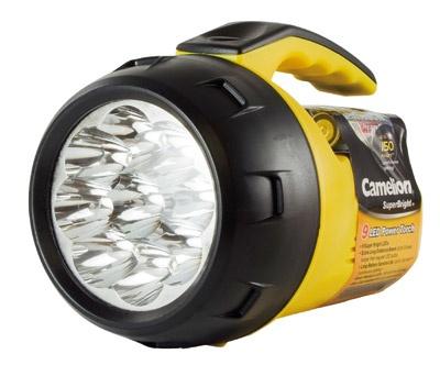 Camelion Handscheinwerfer FL-9LED-4R6B 9 x LED