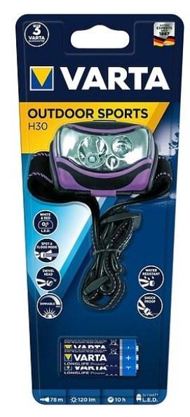 Varta Outdoor Sports Head Light 3AAA