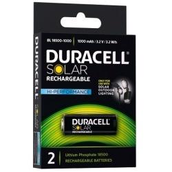 Duracell Solar Akku 18500