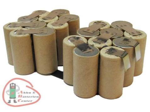 Werkzeug Akkupacks ohne Gehäuse zum Selbsteinbau