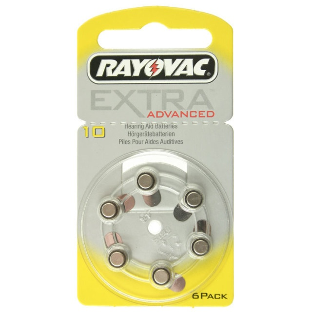Rayovac  EXTRA  ADVANCED Hörgerätebatterien