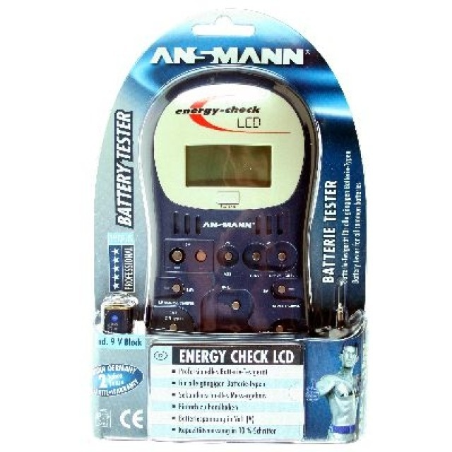 Ansmann  Energy Check LCD