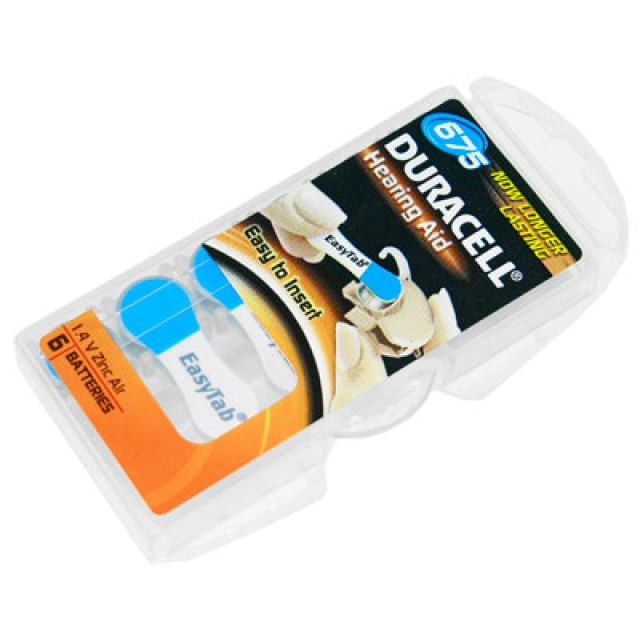 Duracell Hörgerätebatterien 675 /  PR44
