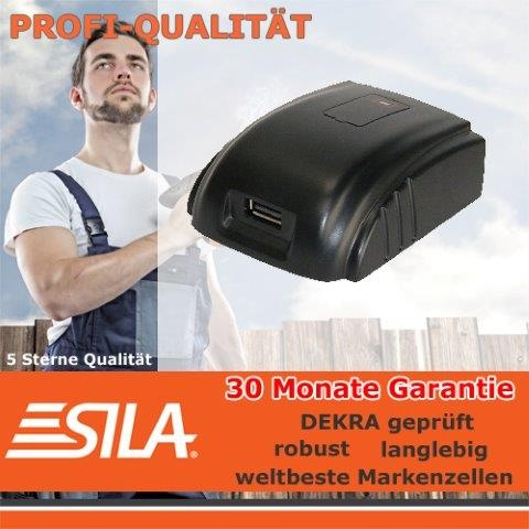 SILA  USB-Powertool-Adapter für MILWAUKEE
