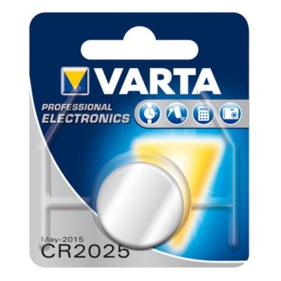 Varta CR 2025 im 1er Blister
