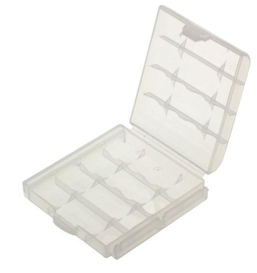 Akkubox für 4 x AA / AAA