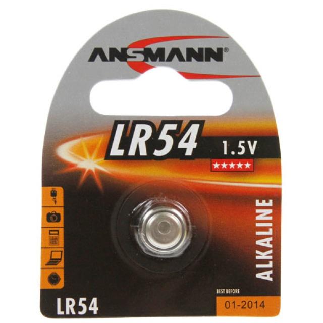 Ansmann Knopfzelle LR 54