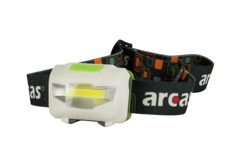 Arcas 3 Watt Kopflampe / 4 Funktionen /