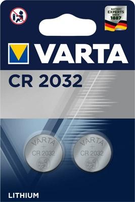 Varta CR 2032  im 2er Blister