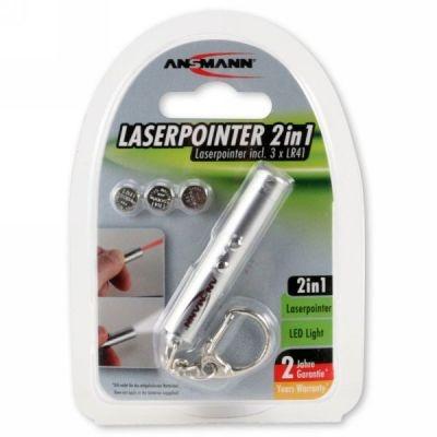 Ansmann Mini-Laserpointer und Schlüsselleuchte
