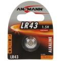 Ansmann Knopfzelle LR 43