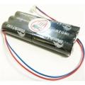 batterieplus2go Akkupack 7,2V 2300mAh