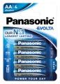 Panasonic  Evolta LR6 Mignon LR6EE/4BP